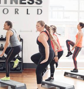 fitness world personlig træner